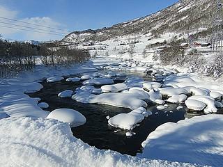 Snow and arctic temperatures