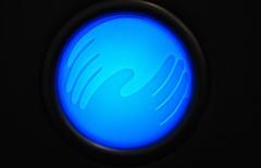 Hand to Hand (M Malinov) Tags: blue hand light ball magical globe