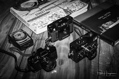 About Street Photography (PaulHoo) Tags: gas camera gear equipment product still life blackandwhite monochrome streetphotography pentax a110 film analog 35mm lightmeter gossen book inspiration rollei rollei35 minolta afc saul leiter early color