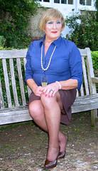 Wheatblushrtsit-002 (fionaxxcd) Tags: crossdressers crossdressing transvestite trannie tranny m2f mtf girlyboi tights stilettos rednails pearls