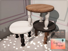 {YD} Little Table (*Your Dreams*) Tags: newdecoration table thechapterfour yourdreams 100originalmesh