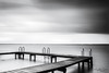 Ready to jump (IngridVD. Photography) Tags: natuur nature nederland water outdoor lake blackwhite landschap clouds wolken dreiging regen onweer zuidholland ingridvandamme ingridvd