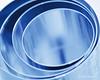 """Circles"" for Macro Mondays (Monica Muzzioli) Tags: circles macromondays metal monochrome blue macro mono monochromatic biscuitcutter"
