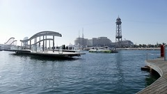 moving bridge rambla de mar Barcelona Spain (roli_b) Tags: moving bridge brücke rambla de mar ramblademar port vell bcn barcelona spain españa puerto hafen harbour quai travel viajar turismo tourism 2018