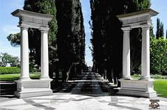 Villa Athena - Main Garden Terrace - Story of Gracchus - Vittorio Carvelli (vittoriocarvelli) Tags: ancientgreece athens gardens marble romanempire storyofgracchus terrace tuscancolumns villaathena vittoriocarvelli