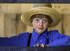 Blue eyes. (crabsandbeer (Kevin Moore)) Tags: amish children kids mudsale pa pennsylvania people rawlinsville spring person youngman candid blue eyes blueeyes youth pennsylvaniadutch lancastercounty mennonite hat religion rural face stare dof americana f28 smile