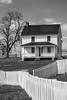 Antietam-Poffenberger Farm 3-0 F LR 4-11-18 J117 (sunspotimages) Tags: civilwar america americancivilwar american warbetweenthestates antietammd antietam maryland sharpsburg sharpsburgmaryland md sharpsburgmd blackwhite blackandwhite bw monochrome farm farmhouse
