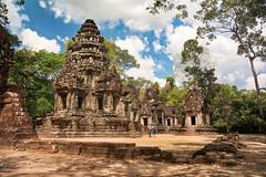 Cambodia, Thommanon Temple (Gilama Mill) Tags: sun love temple angkor asia cambodia travel
