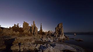 Full Moon Panorama - Mono Lake, California