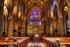 Trinity Church-2 (albyn.davis) Tags: church religious architecture building interior worship windows arches travel nyc newyorkcity light lighting colors golden brown history historic hdr glass