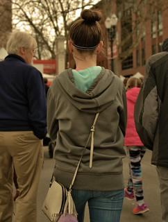 Walking In People Traffic