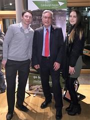 At Universities Scotland reception