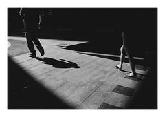 Shadow steps (Anis Binkason) Tags: ilford xp2 blackandwhite film filmphotography 135film leica leicam6 street streetphotography shadow bangkok thailand life people