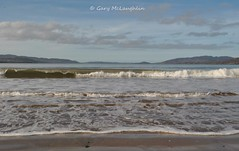Lough Swilly in Inishowen (Gary Rock Photo) Tags: beach ludden waves sand sea inishowen buncrana visitireland discoverdonegal