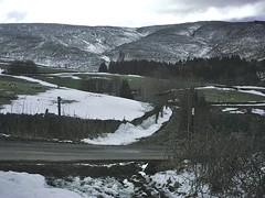 Minox landscape (Blue Pelican) Tags: march snow landscape hills road path glossop derbyshire minoxdcc51zorancoach