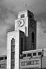 Deco Tower / NAO (Images George Rex) Tags: london westminster uk moderne deco imperialairways boac bea portlandstone clocktower clock england photobygeorgerex unitedkingdom britain imagesgeorgerex architecture bw blackandwhite modernism