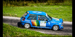 Renault 5 GT Turbo Gr.N (1988) (Laurent DUCHENE) Tags: vosgesrallyefestival rallye rally rallycar rallyevent motorsport historiccar car automobile auto 2017 automobiles renault 5 gt turbo grn super5