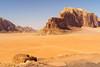 Wadi Rum (Photo@Wolf) Tags: jordanien jordan wadirum rumvillage wüste desert sand berg mountain blau gelb blue yellow sky himmel landschaft landscape a6000 sel35f18 sony unesco weltkulturerbe
