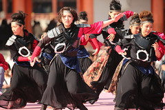 Yosakoi dance performance (Teruhide Tomori) Tags: 京都さくらよさこい 京都 日本 ダンス 衣装 踊り kyoto japan dance festival event performance japon yosakoi costume 祭 イベント