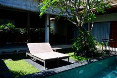 Sandi Agung Villa Sun Loungers (itchypaws) Tags: northkuta bali indonesia id sandi agung villas seminyak villa swimming pool sun lounger 2017 vacation holiday asia island