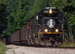 Black To The Bessemer (Joseph Bishop) Tags: ic 1018 emd sd70 ble pennsylvania ohio trains train track tracks railfan railroad railway rail rails bessemer cnbessemersubdivision