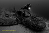 Diver and Plane Wreck (kayak_no1) Tags: nikon d800e nauticamhousing 15mmsigmafisheye fisheye ysd1 underwater underwaterphotography wa wideangle diving scubadiving uw moalboal philippines plane wreck diver