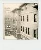 untitled (kaumpphoto) Tags: polaroid 680 instant blizzard drift storm minneapolis window brick eaves roof pane drain monochrome winter spout