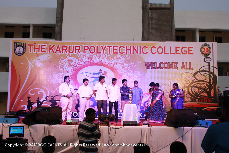 The Karur Polytechnic College Annual day function