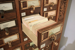 Open Drawer (JB by the Sea) Tags: sanfrancisco california march2018 financialdistrict sanfranciscomuseumofmodernart sfmoma cardcatalogue