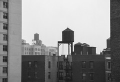 Water Towers - DSC05450_epgs (Eric.Parker) Tags: newyork nyc ny bigapple usa manhattan 2015 bw