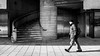 Man walking (borishots) Tags: fuji fujifilm fujifilmx100t fujifilmnordic fujifilmx fujinon analog classicchrome fujifilmphotographe retro vintage x100 x100t streets street streetphotography streetcorner stairs blackandwhite bw monochromatic monochrome people man light shadow wide 169 oslo norway