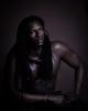Ran (liesbet_sanders) Tags: male man portrait portraiture portraitmood studio one light low key rasta brown black senegalese beautiful