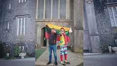 #LITHUANIAN SPRING FESTIVAL CHARLEVILLE CASTLE #TULLAMORE . (Clown Jeca (Marco Pessanha)) Tags: jecatheclown instagram clown funny clownjeca