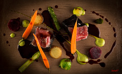 Spring time beef filet (Jankaleon67) Tags: food cibo beeffilet verdura vegetables colori spring primavera colors restaurant expression espressione artist chef cucina kitchen art arte canon6d canon