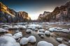 Valley View, Yosemite! (Simon Huynh) Tags: yosemitenationalpark yosemitevalley yosemite snowpillow snow mercedriver halfdome elcapitan