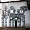 Robots mural, Kraków (Bex.Walton) Tags: travel poland kraków krakow weekend longweekend citybreak art streetart mural murals robots