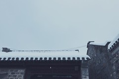 (ys.T) Tags: nanjing snow cold white quiet winter travel china fog life 南京 roof