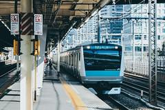 _MG_6921 (waychen_c) Tags: japan tokyo minatoku hamamatsucho hamamatsuchostation jr jreast e233 train railway station platform japanrailways 日本 東京 港区 浜松町 浜松町駅 jr東日本 京浜東北線 e233系 keihintohokuline