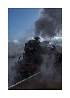 Ramsbottom Train Leaving