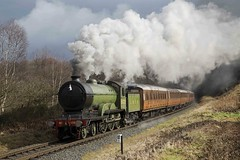 LNER B12 8572 - 1 (captain tower) Tags: uksteam steamtrain lner b12 8572 severnvalleyrailway