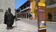 Cartagena (Tomas Belcik) Tags: janpavel pope cartagena colombia oldtown streets lanes colonial architecture colonialarchitecture balconies
