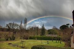 Arc en ciel_3926 (Luc Barré) Tags: arc en ciel arcenciel rainbow sky orage estampon losse landes france