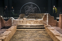 London Mithraeum (karlequin) Tags: london mithraeum temple ancient monument mithras tauroctony roman