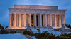 Snow at Lincoln (ProPeak Photography - Thanks for 600,000 views!) Tags: america architecture blue famousplace internationallandmark lincolnmemorial nps nationalmall nationalregisterofhistoricplaces northamerica people places sunset touristattraction traveldestination travelandtourism usnationalmemorial usa unitedstates washingtondc winter snow