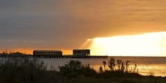 Queenscliff Pier at Dawn - Throwback April 2017 (PsJeremy - back and catching up...) Tags: sunrise pier queenscliff dawn silhouette melbourne australia abctv weather