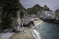 McWay Falls (NormFox) Tags: beach california coast highway ocean rocks sea trees water waterfall waves sand seascape bigsur unitedstates us