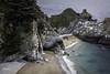 McWay Falls (NormFox) Tags: beach california coast highway ocean rocks sea trees water waterfall waves sand seascape bigsur unitedstates us