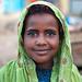 Portrait of a smiling somali girl wearing a hijab, Woqooyi Galbeed region, Hargeisa, Somaliland