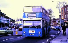 Slide 116-18 (Steve Guess) Tags: barking dagenham london england gb uk ensign ensignbus dms daimler fleetline lrt regional transport b212 ghv74n