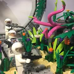 Brickgate - Billund Side (URBN-BRIX) Tags: lego legomoc legostargate legospace legoscene legospaceship space stargate billund afol urbnbrix roguebrick